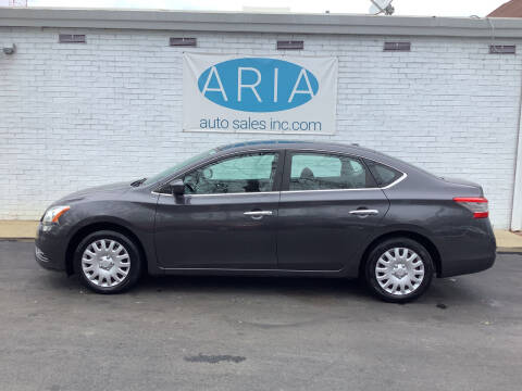 2013 Nissan Sentra for sale at ARIA  AUTO  SALES in Raleigh NC