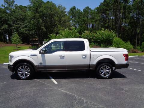 2017 Ford F-150 for sale at BALKCUM AUTO INC in Wilmington NC