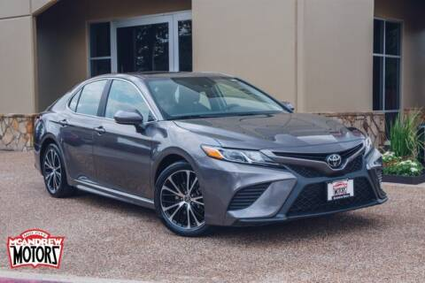 2019 Toyota Camry for sale at Mcandrew Motors in Arlington TX