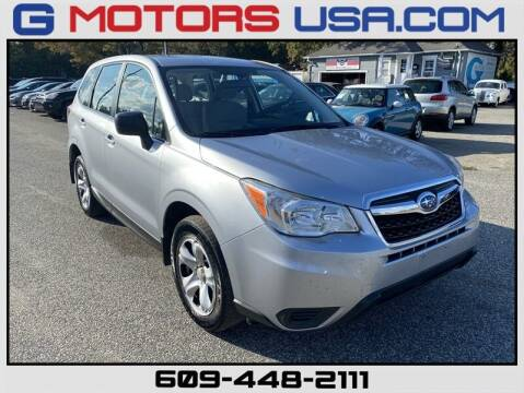 2014 Subaru Forester for sale at G Motors in Monroe NJ