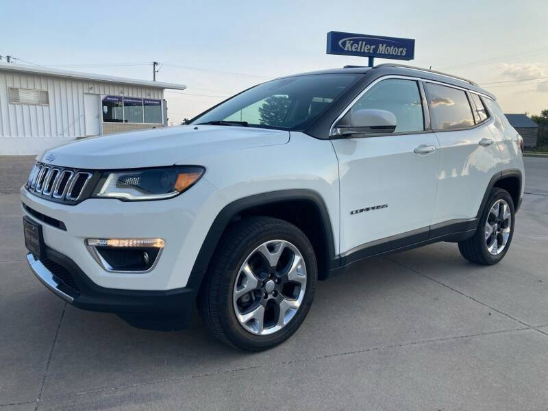 2018 Jeep Compass for sale at Keller Motors in Palco KS