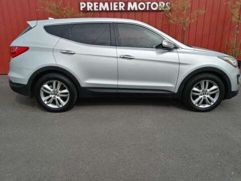 2013 Hyundai Santa Fe Sport for sale at PREMIERMOTORS  INC. in Milton Freewater OR