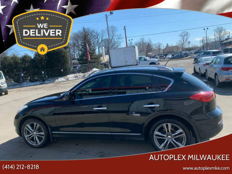 2013 Infiniti EX37 for sale at Autoplex Milwaukee in Milwaukee WI