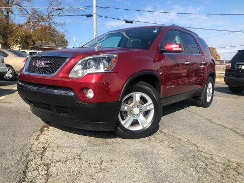 2008 GMC Acadia for sale at Atlas Auto Sales in Smyrna GA