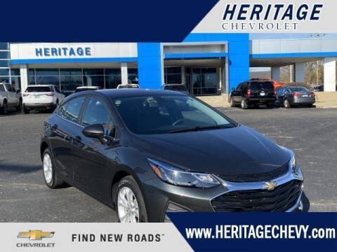 2019 Chevrolet Cruze for sale at HERITAGE CHEVROLET INC in Creek MI