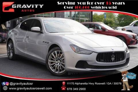 2017 Maserati Ghibli for sale at Gravity Autos Roswell in Roswell GA