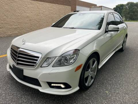2010 Mercedes-Benz E-Class for sale at Premium Auto Outlet Inc in Sewell NJ