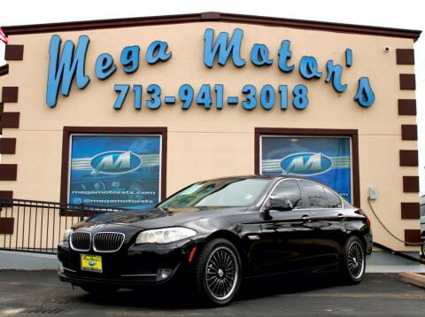 2011 BMW 5 Series for sale at MEGA MOTORS in South Houston TX