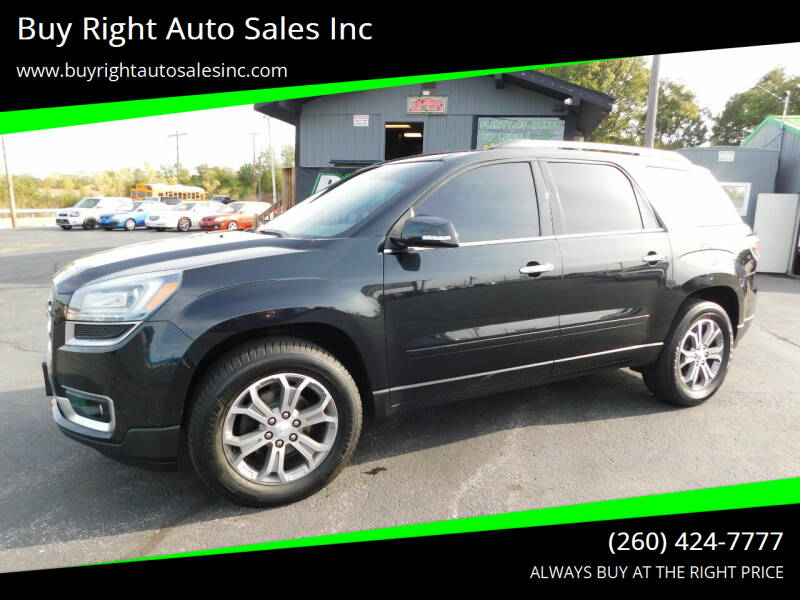 2015 GMC Acadia for sale at Buy Right Auto Sales Inc in Fort Wayne IN