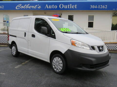 2017 Nissan NV200 for sale at Colbert's Auto Outlet in Hickory NC