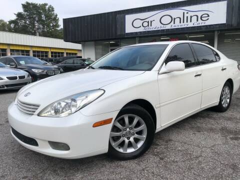 2004 Lexus ES 330 for sale at Car Online in Roswell GA