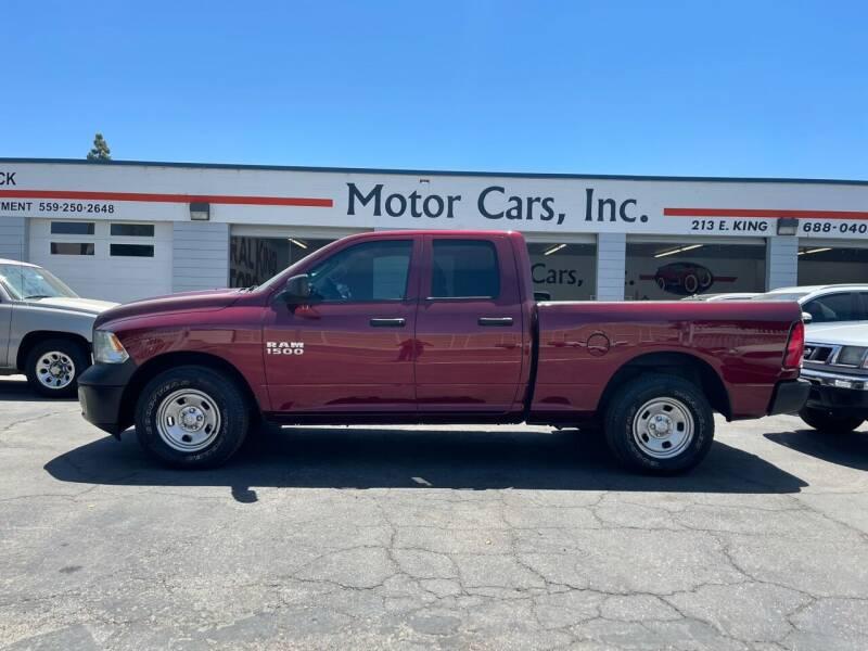 2018 RAM Ram Pickup 1500 for sale at MOTOR CARS INC in Tulare CA