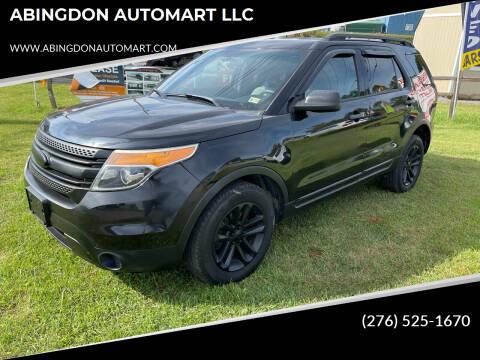 2015 Ford Explorer for sale at ABINGDON AUTOMART LLC in Abingdon VA