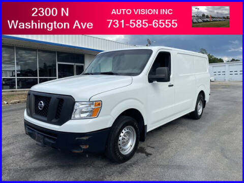 2016 Nissan NV Cargo for sale at Auto Vision Inc. in Brownsville TN