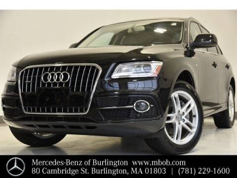 2014 Audi Q5 for sale at Mercedes Benz of Burlington in Burlington MA