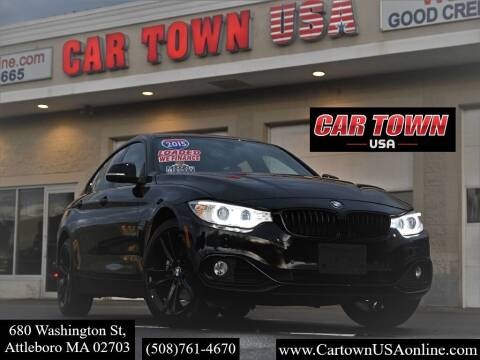 2015 BMW 4 Series for sale at Car Town USA in Attleboro MA