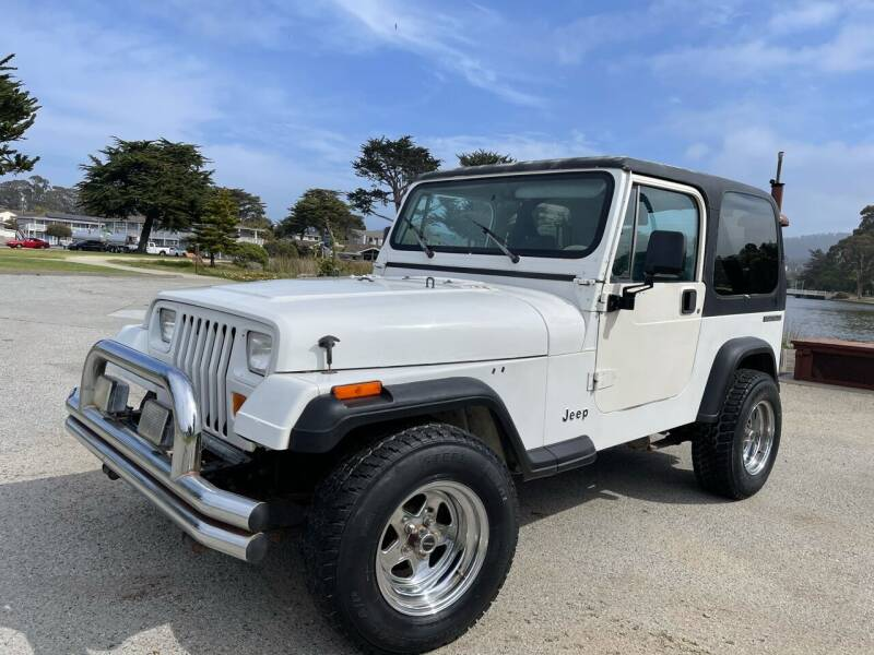 1989 Jeep Wrangler for sale at Dodi Auto Sales in Monterey CA