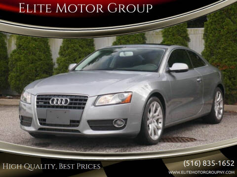 2010 Audi A5 for sale at Elite Motor Group in Farmingdale NY