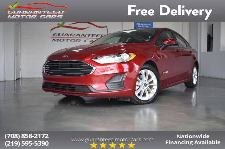 2019 Ford Fusion Hybrid for sale in Lansing, IL