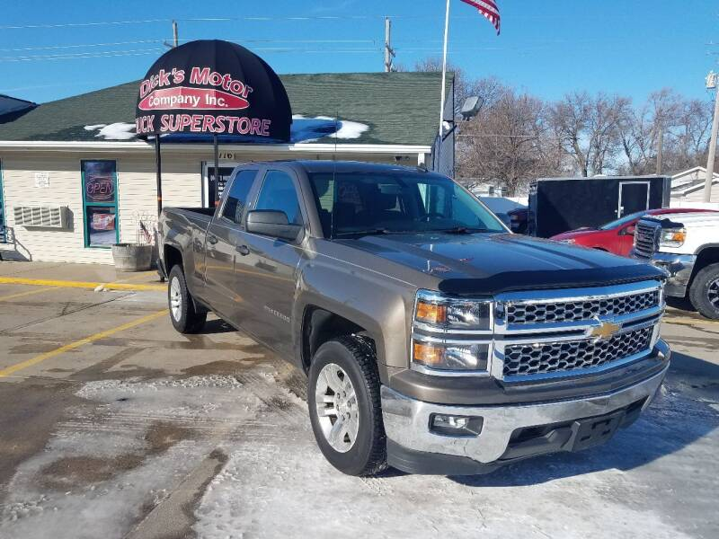 2014 Chevrolet Silverado 1500 for sale at DICK'S MOTOR CO INC in Grand Island NE