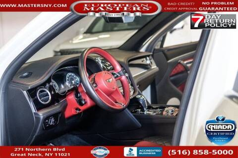 2018 Bentley Bentayga for sale at European Masters in Great Neck NY