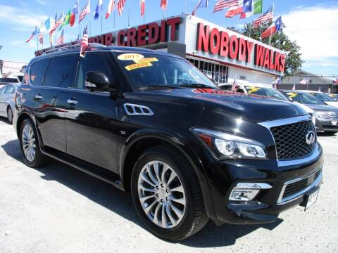 2015 Infiniti QX80 for sale at Giant Auto Mart 2 in Houston TX