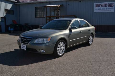 2009 Hyundai Sonata for sale at Dave's Auto Sales in Winthrop MN