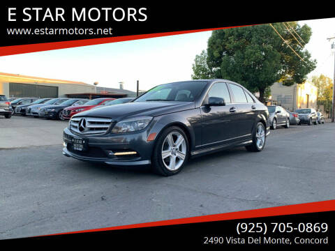 2011 Mercedes-Benz C-Class for sale at E STAR MOTORS in Concord CA