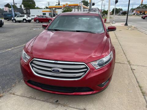 2015 Ford Taurus for sale at National Auto Sales Inc. - Hazel Park Lot in Hazel Park MI