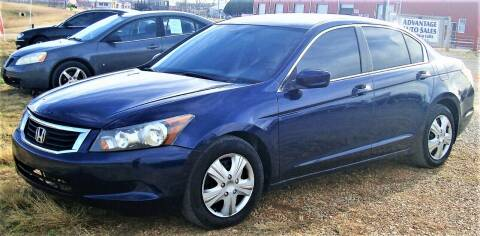 2010 Honda Accord for sale at Advantage Auto Sales in Wichita Falls TX