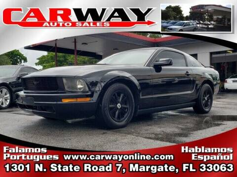 2006 Ford Mustang for sale at CARWAY Auto Sales in Margate FL