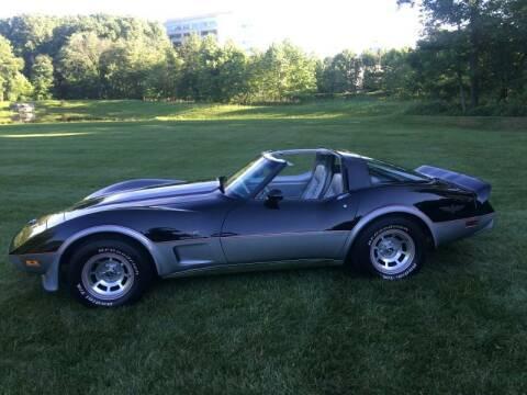 1978 Chevrolet Corvette for sale at Limitless Garage Inc. in Rockville MD