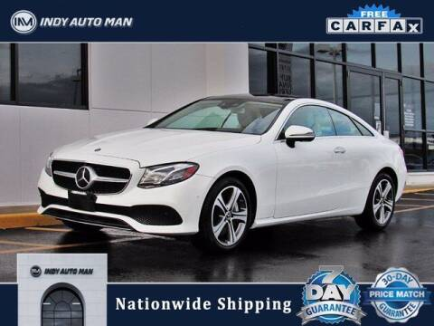 2018 Mercedes-Benz E-Class for sale at INDY AUTO MAN in Indianapolis IN