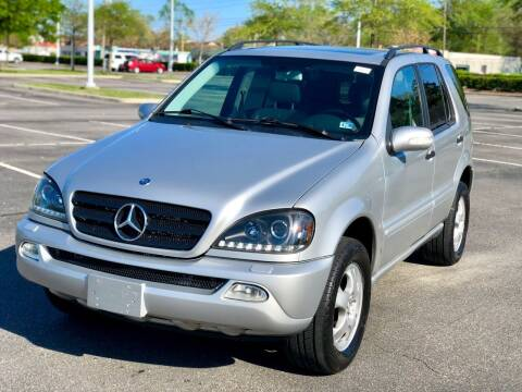 2002 Mercedes-Benz M-Class for sale at Supreme Auto Sales in Chesapeake VA