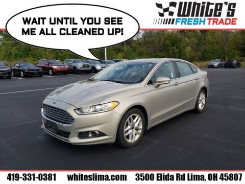 2015 Ford Fusion for sale at White's Honda Toyota of Lima in Lima OH