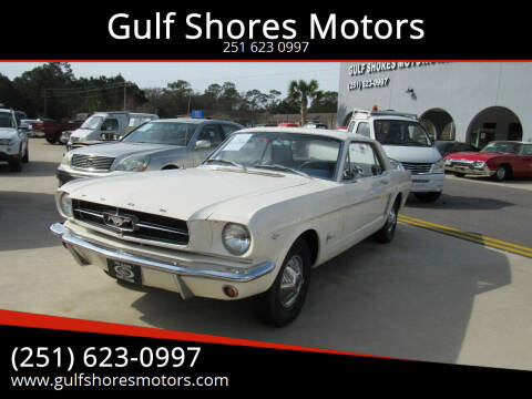1965 Ford Mustang for sale at Gulf Shores Motors in Gulf Shores AL