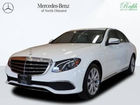 2018 Mercedes-Benz E-Class for sale at Mercedes-Benz of North Olmsted in North Olmstead OH