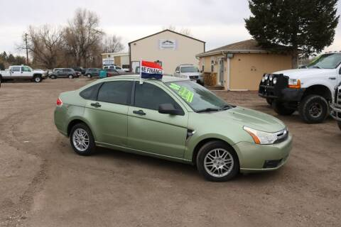 2008 Ford Focus for sale at Northern Colorado auto sales Inc in Fort Collins CO