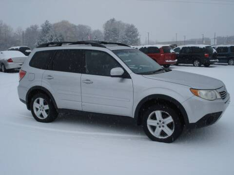 2009 Subaru Forester for sale at North Star Auto Mall in Isanti MN