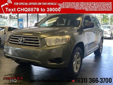 2010 Toyota Highlander for sale at CERTIFIED HEADQUARTERS in Saint James NY