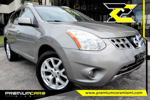 2012 Nissan Rogue for sale at Premium Cars of Miami in Miami FL
