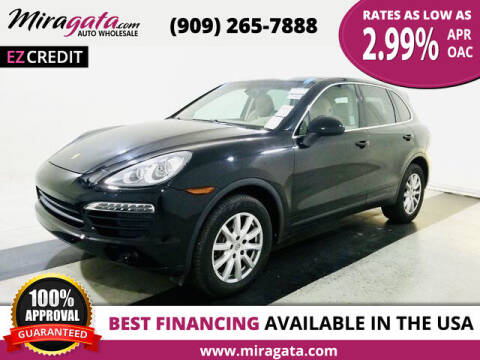 2012 Porsche Cayenne for sale at Miragata Auto in Bloomington CA