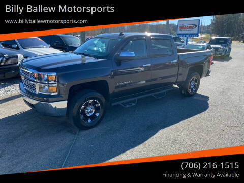 2014 Chevrolet Silverado 1500 for sale at Billy Ballew Motorsports in Dawsonville GA