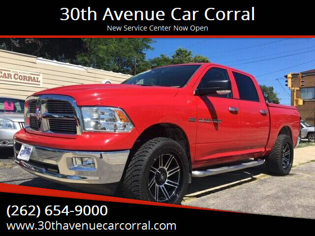 2011 RAM Ram Pickup 1500 for sale at 30th Avenue Car Corral in Kenosha WI