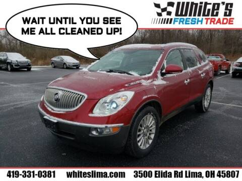2012 Buick Enclave for sale at White's Honda Toyota of Lima in Lima OH