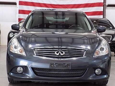 2012 Infiniti G37 Sedan for sale at Texas Motor Sport in Houston TX