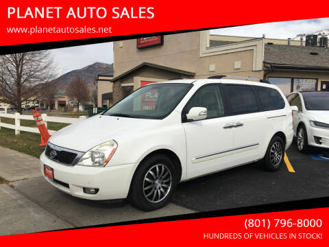 2011 Kia Sedona for sale at PLANET AUTO SALES in Lindon UT