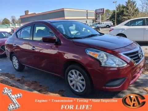 2017 Nissan Versa for sale at VA Cars Inc in Richmond VA