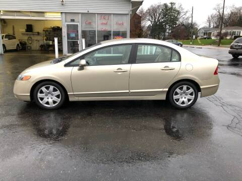 2008 Honda Civic for sale at J&J Car and Truck Sales in North Canton OH