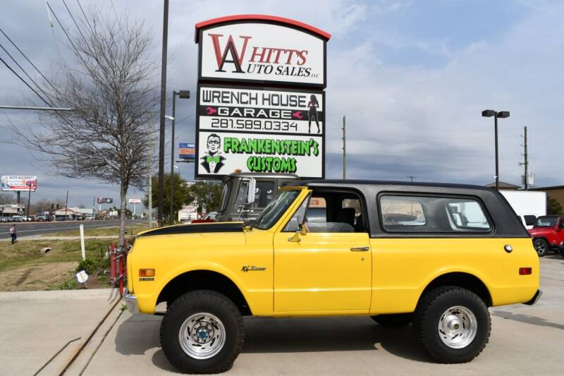 1971 Chevrolet Blazer for sale at WHITT'S AUTO SALES, LLC in Houston TX